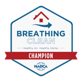 NADCA Clean Breathing Champion Badge