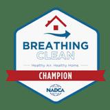 NADCA Clean Breathing Champion Badge