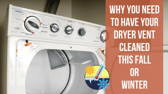 Hi Tech Nov 2018 Blog - Dryer Vent Cleaning