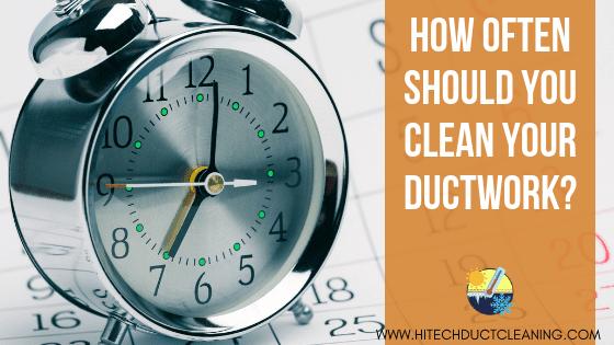 Hi Tech Jan 2019 - How often should you clean your ductwork BLOG IMAGE